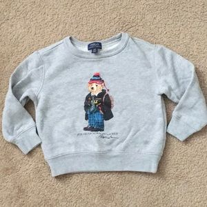 Polo Ralph Lauren University Bear sweatshirt -3T